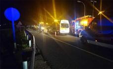 Cinco heridos al chocar dos coches entre Xeraco y Xeresa