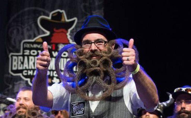 Fotos del concurso de barbas de Estados Unidos