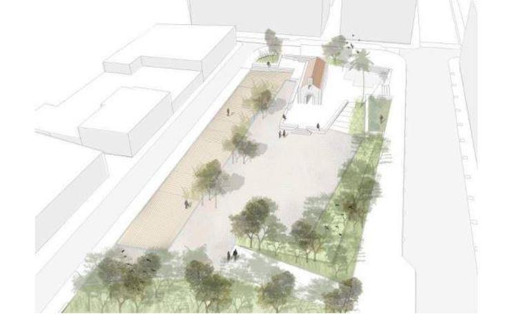 Fotos de la reconstrucción virtual del jardin de la ermita de Orriols