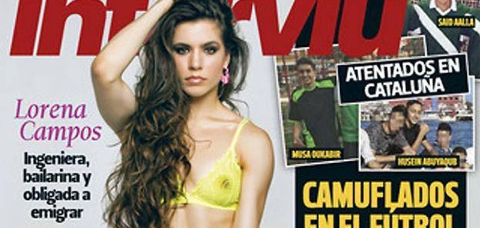 Lorena Campos, portada de 'Interviú'