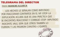 Telegrama para Manuel Illueca