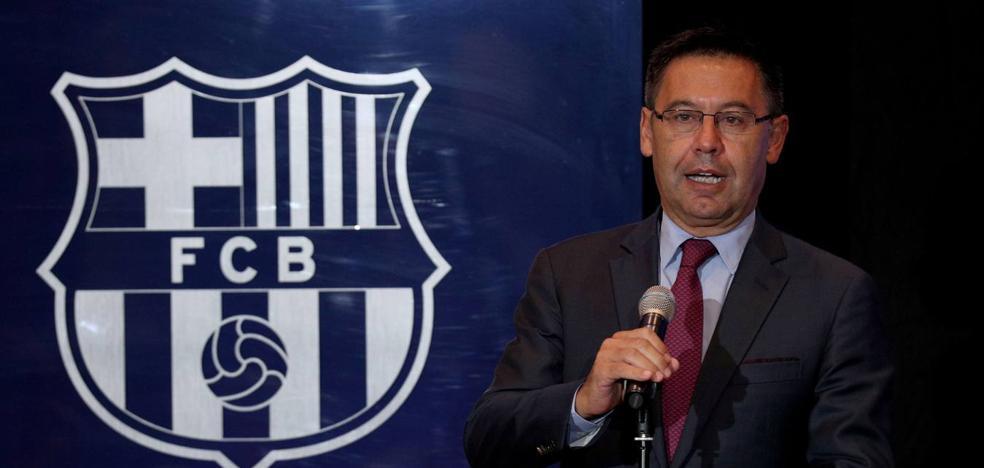 Bartomeu garantiza la continuidad de Messi