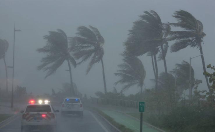 Fotos del devastador paso del huracán Irma