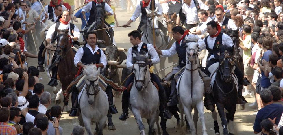 Revive la entrada de toros y caballos de Segorbe de hoy, 7 de septiembre