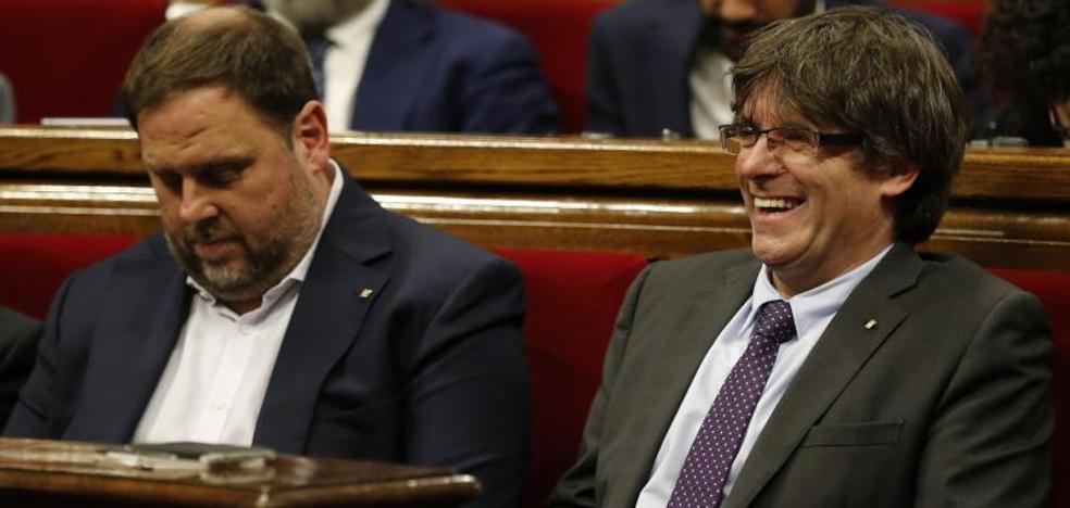 Suspendida oficialmente la convocatoria del referéndum de Cataluña