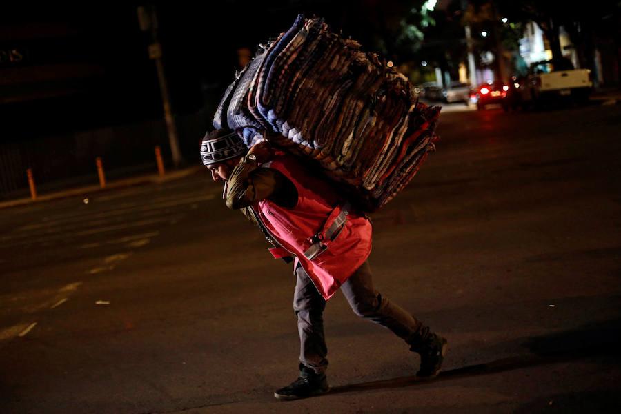 Fotos del terremoto en México