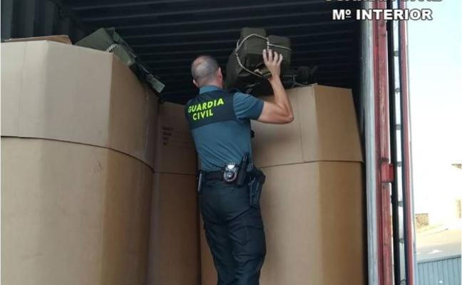 Incautados en Altea 226 kilos de cocaína escondidos en un contenedor de almendras