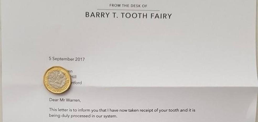 La carta que el 'Ratoncito Pérez' dejó a un niño para que se lavara más los dientes
