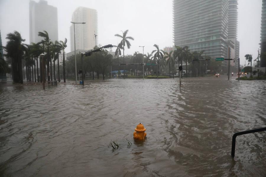 Fotos de Florida tras el paso del huracán Irma