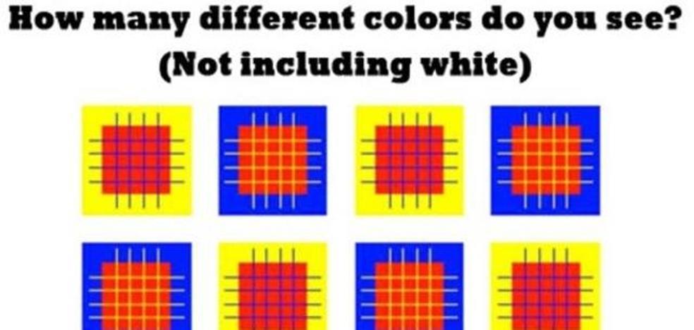 Solución | ¿Cuántos colores ves en esta imagen?