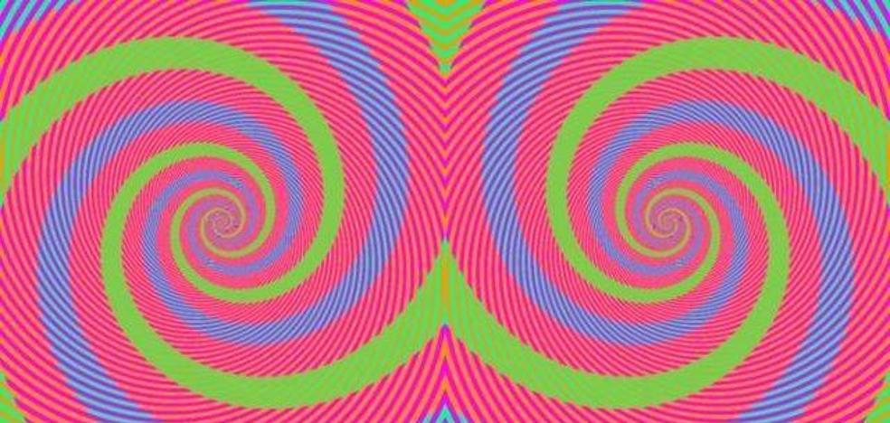 Solución | ¿De qué colores son las espirales en esta imagen?