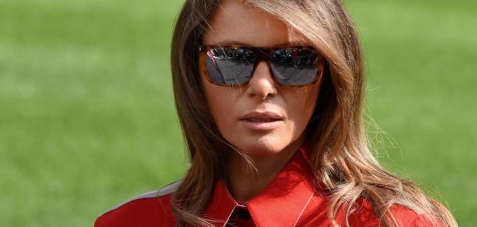 Comparan a Melania Trump con las lagartas de la serie 'V'