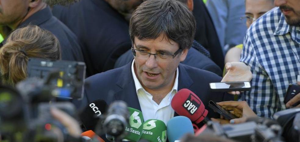 Puigdemont, dispuesto a aplazar el 1-O si Rajoy negocia el referéndum