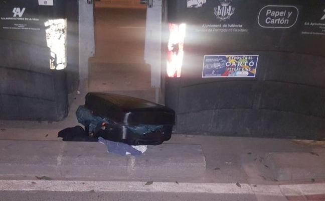 Ocultar el cuerpo de las víctimas en maletas como 'modus operandi'