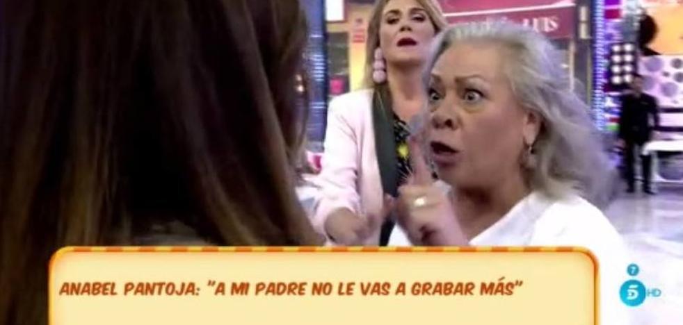 Carmen Gahona y Anabel Pantoja casi llegan a las manos en 'Sálvame'