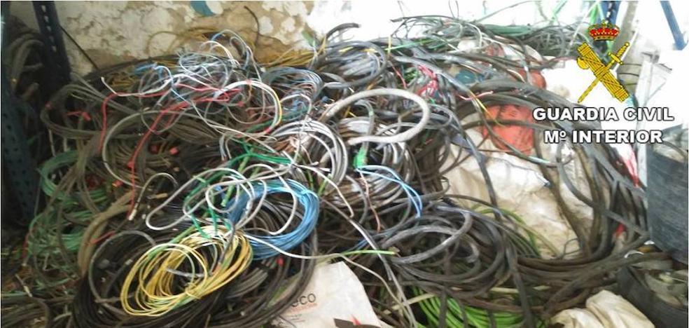 Detenido en Alcoy por el robo de cobre por valor de 108.000 euros