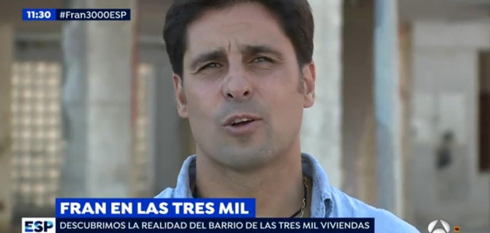 Fran Rivera se estrena como reportero en 'Espejo Público'