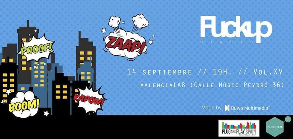Valencialab acoge la XV edición de Fuckup Nights