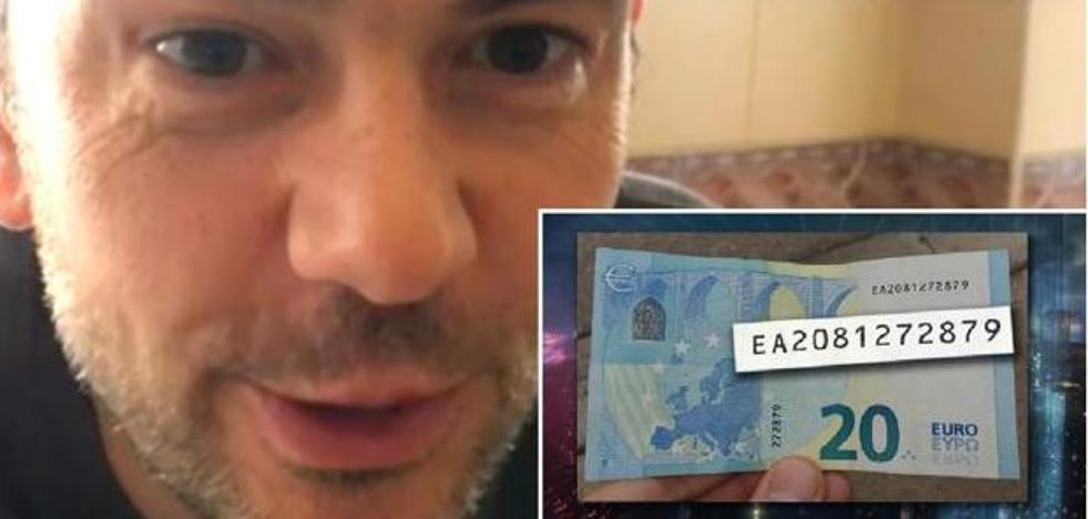 El billete de 20 euros que vale 6.000 de 'El Hormiguero' partió de la Vilavella