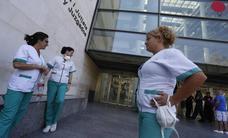 La Ciudad de la Justicia de Valencia, cerrada hasta el lunes por problemas médicos de los funcionarios