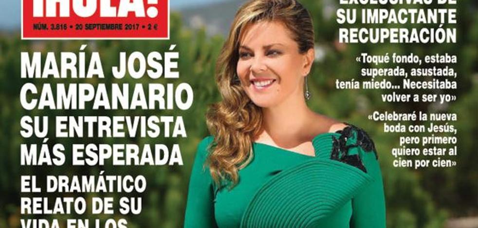 María José Campanario reaparece con su entrevista más esperada