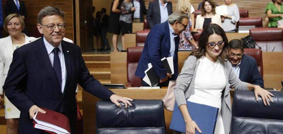 Los 21 anuncios de Ximo Puig en el Debate de Política General