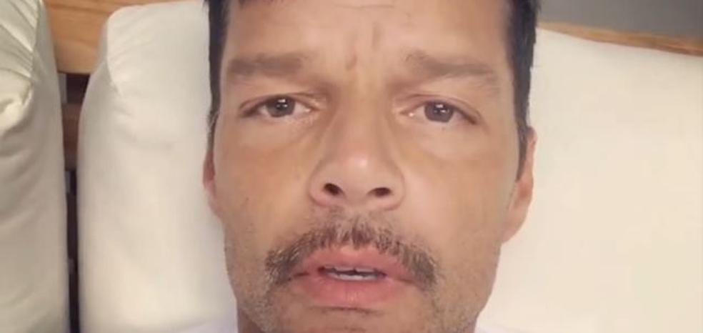 Ricky Martin preocupa a sus seguidores por su aspecto