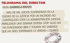 Telegrama para Gabriela Bravo