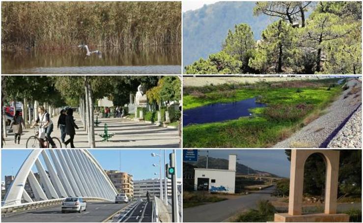 Fotos de las rutas en bici de Valencia
