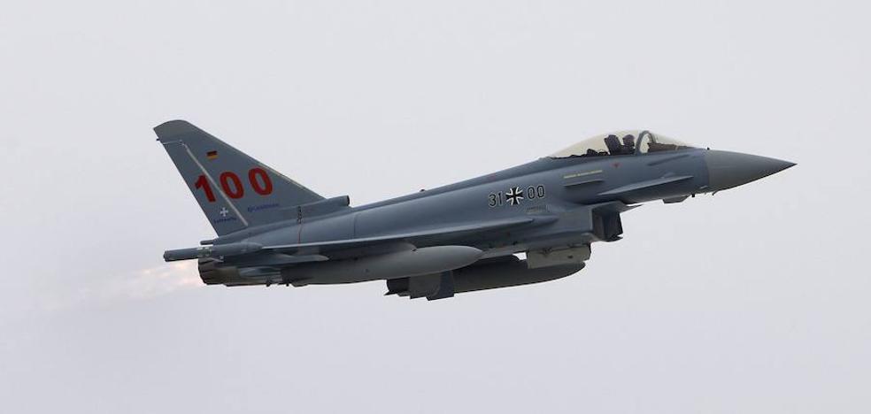 Otro estruendoso vuelo de un caza asombra a los vecinos de Valencia
