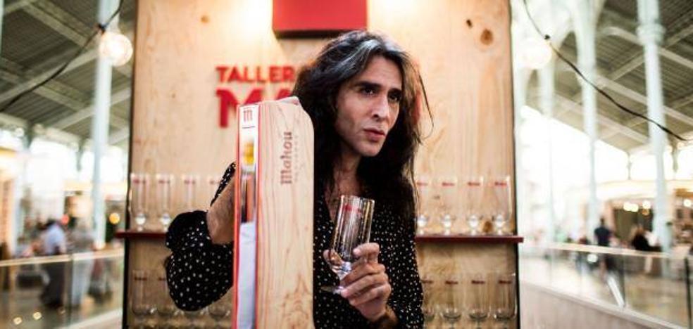 Mario Vaquerizo inaugura el Taller de Tiraje de Valencia