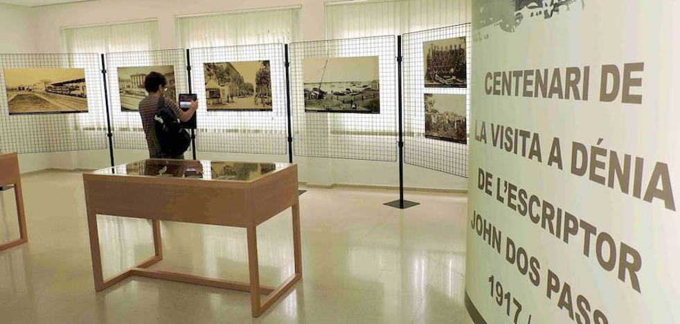 Dénia organiza una exposición sobre la visión de John Dos Passos de la localidad
