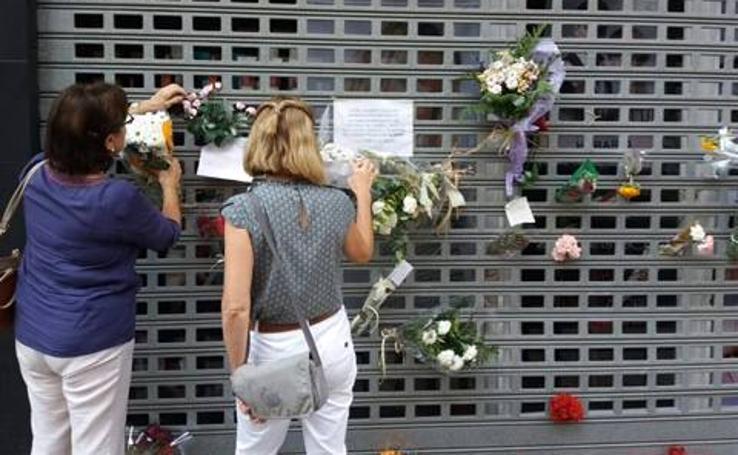 Fotos del funeral del peluquero descuartizado en Valencia