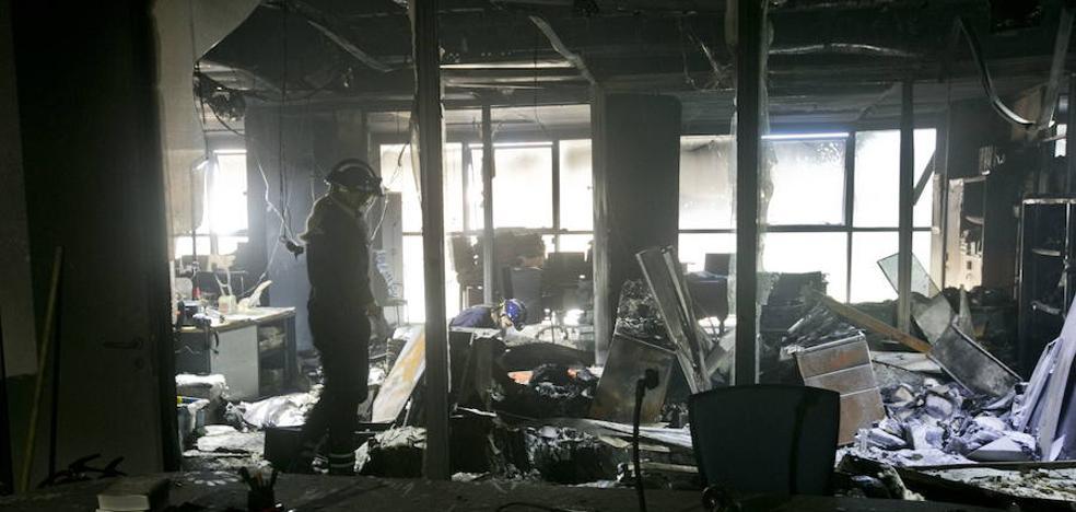 El TSJCV declara la inhabilidad hasta el 24 de septiembre de los juzgados incendiados