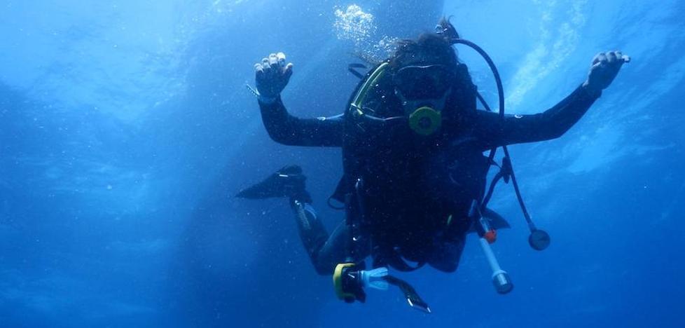 El Club de Buceo Mediterráneo organiza una inmersión multitudinaria para limpiar el fondo marino de La Malvarrosa