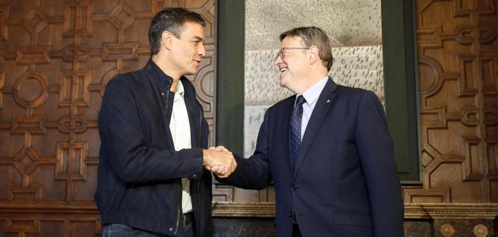 Pedro Sánchez tiende la mano a Rajoy para negociar una nueva financiación más beneficiosa para la Comunitat
