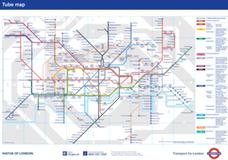 Mapa / plano del metro de Londres. Dónde está Parsons Green