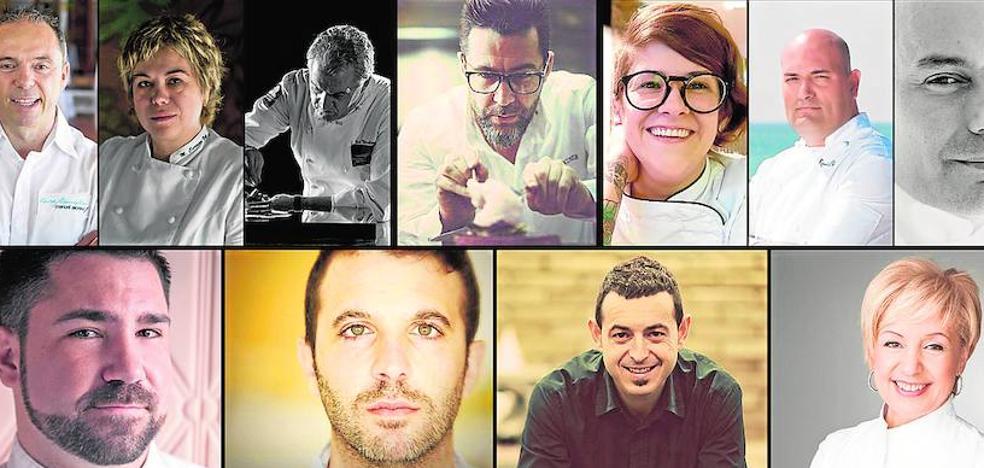 Chefs valencianos bajo las Estrellas de Dénia