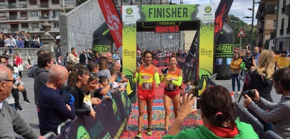 Natacha López gana el maratón de Plazaola
