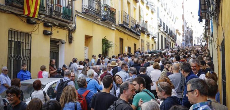 Acto pro referéndum en Madrid por el «derecho a decidir»