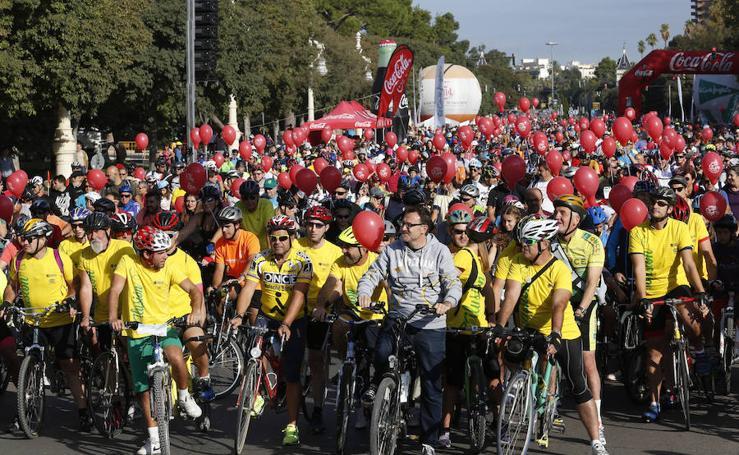 Fotos del día de la bicicleta en Valencia