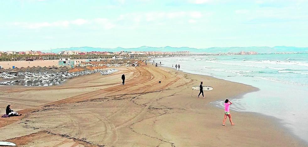 Las obras de regeneración de las playas de El Saler tardarán más de un año