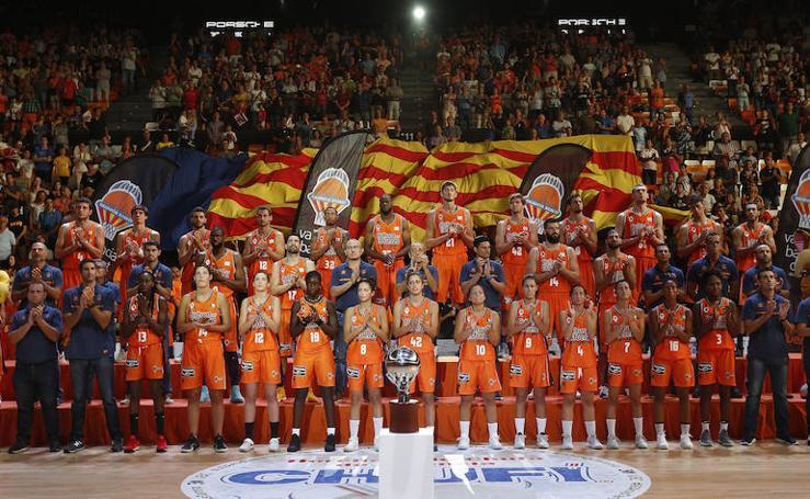 Fotos de la presentación del Valencia Basket