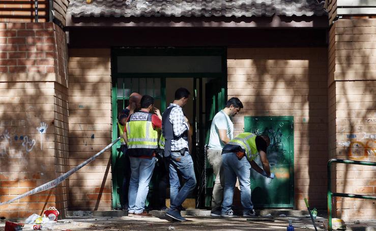 Fotos del tiroteo en La Coma (Paterna)
