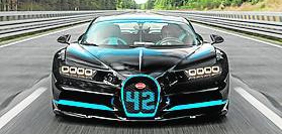 Bugatti, récord del mundo con el Chiron
