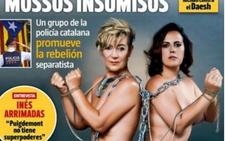 Un desnudo contra los abusos bancarios en 'Interviú'