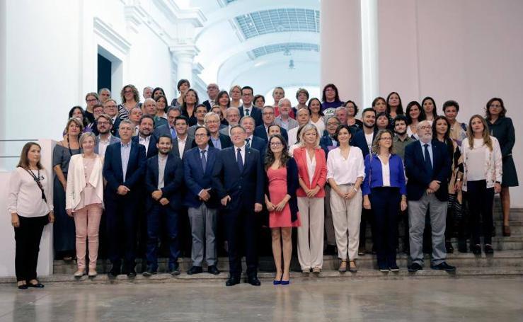 Fotos de la firma del Pacto contra la Violencia de Género en la Comunitat Valenciana