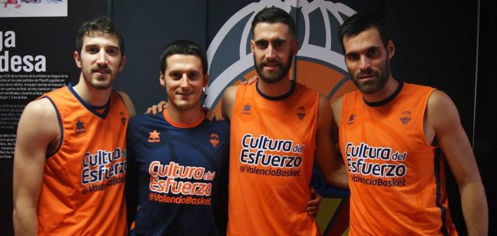 Los medallistas de bronce se reincorporan a los entrenamientos con el Valencia Basket