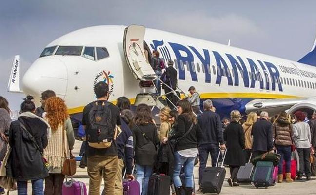 La crisis de Ryanair suspende 20 vuelos en la Comunitat