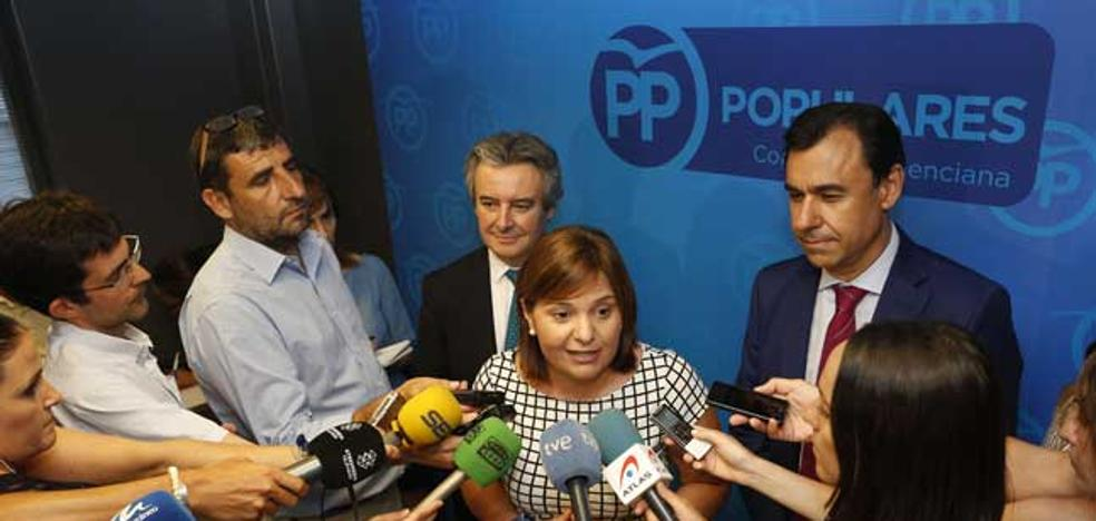 La manifestación por la financiación terminará en la sede del PP de Valencia